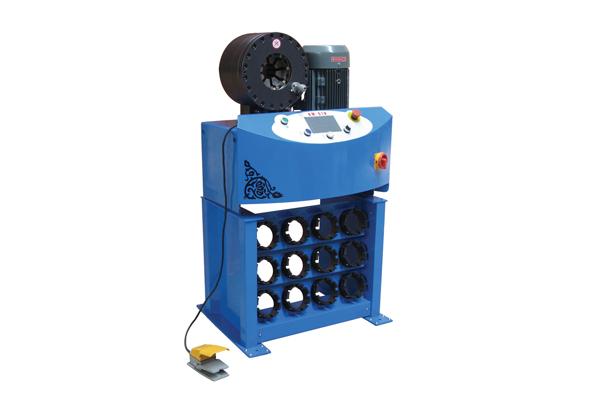 Hydraulisk slangkrimpmaskin med högt tryck för främjande av småföretag