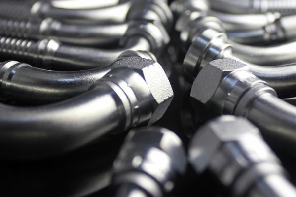 hydrauliska svängbara armbågens rördelar