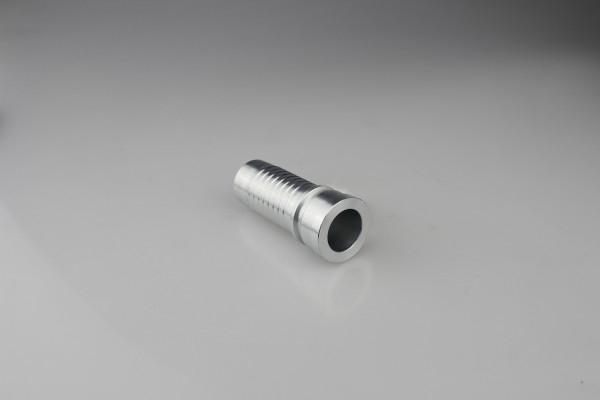 NPT / JIC / SAE / BSP / METRIC hydrauliskt slangbeslag i rostfritt stål